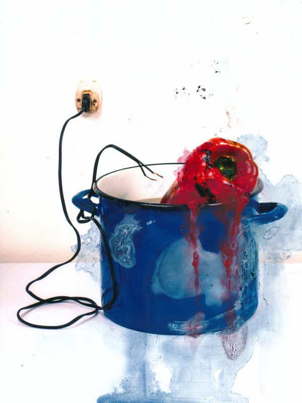 Suicide pepper electrocuted