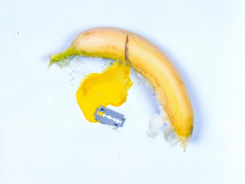 Suicide Yellow banana