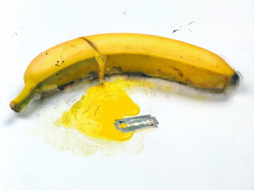 Suicide banana blade