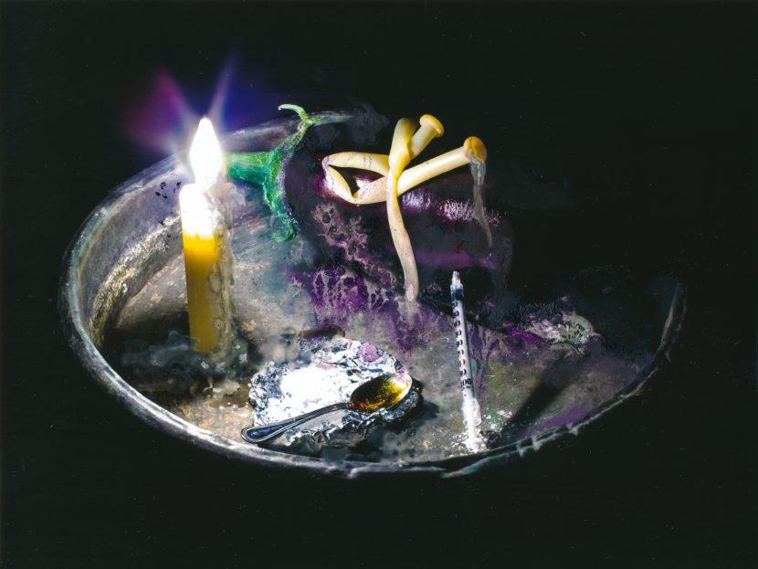 Suicide overdose aubergine